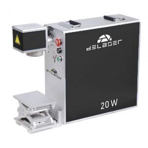 Láser de fibra portátil 20 W Delaser VLP120100 (Rotor opcional)