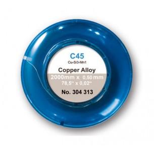 Hilo de cobre CU C45 2000 x 0.5 mm