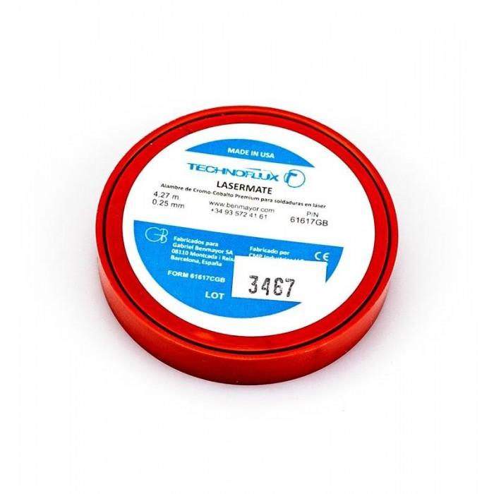 Soldadura para láser Cromo-cobalto 0.014/0,36 mm. Technoflux Lasermate