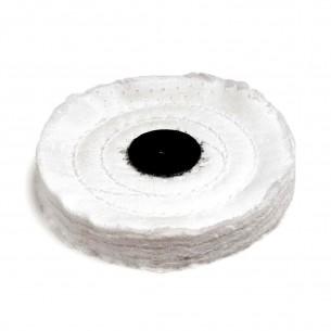 Disco de algodón para pulido y abrillantado 110/60