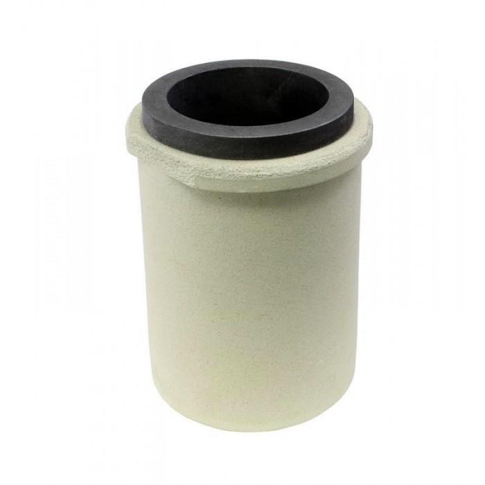 Crisol de grafito con funda de cerámica CG-150