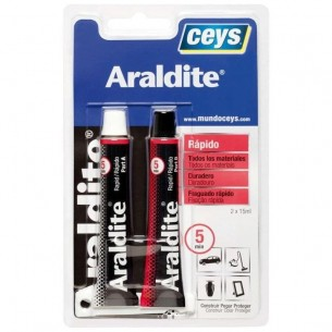 Adhesivo rápido Ceys Araldite 5+5 ml.