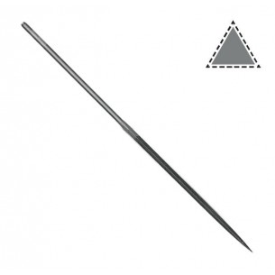 Limatón Vallorbe aguja triángulo 160 mm