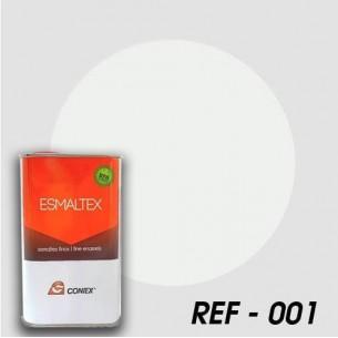 Esmalte opaco bicomponente líquido ESMALTEX Blanco 001 250 g.