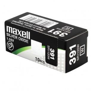 Pila de reloj 10 unidades Maxell 379