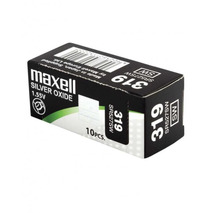 Pila de reloj 10 unidades Maxell 397