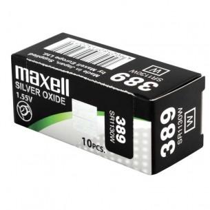 Pila de reloj 10 unidades Maxell 321