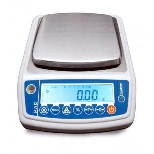 "Balanza verificada ""M"" 3000/0,05 g electrónica de sobremesa Baxtram BAR3000M"