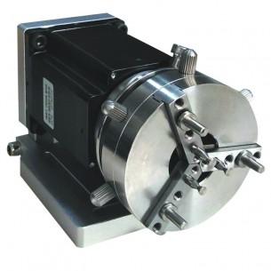 Rotor anillos y grabación circular para máquina láser Delaser