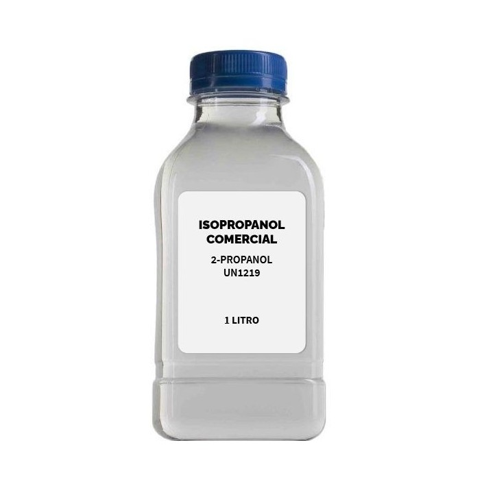Isopropanol comercial 1 litro UN1219
