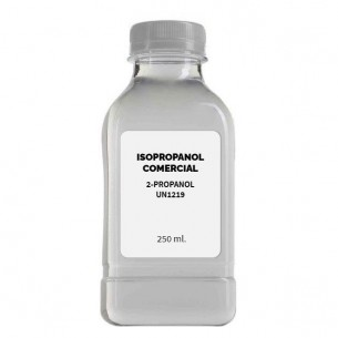 Isopropanol comercial Projoy 250 ml.