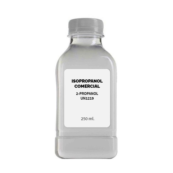 Isopropanol comercial Projoy 250 ml.