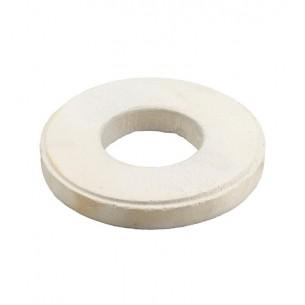 Aro de cerámica para apoyo de crisol horno de 1 Kg.
