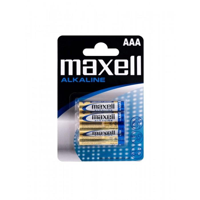 Pila alcalina AAA Maxell Pack 4 unidades