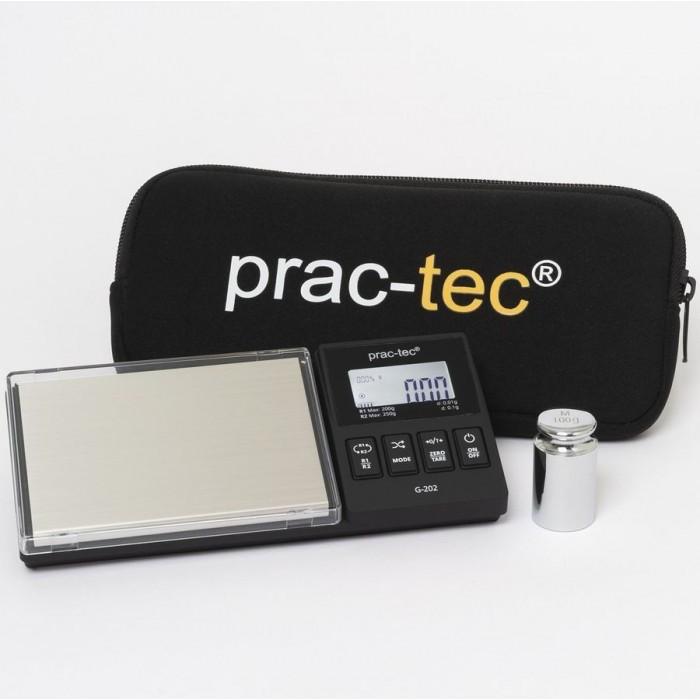 Balanza de precisión Prac-Tec G-202 200 / 0,01 gramos