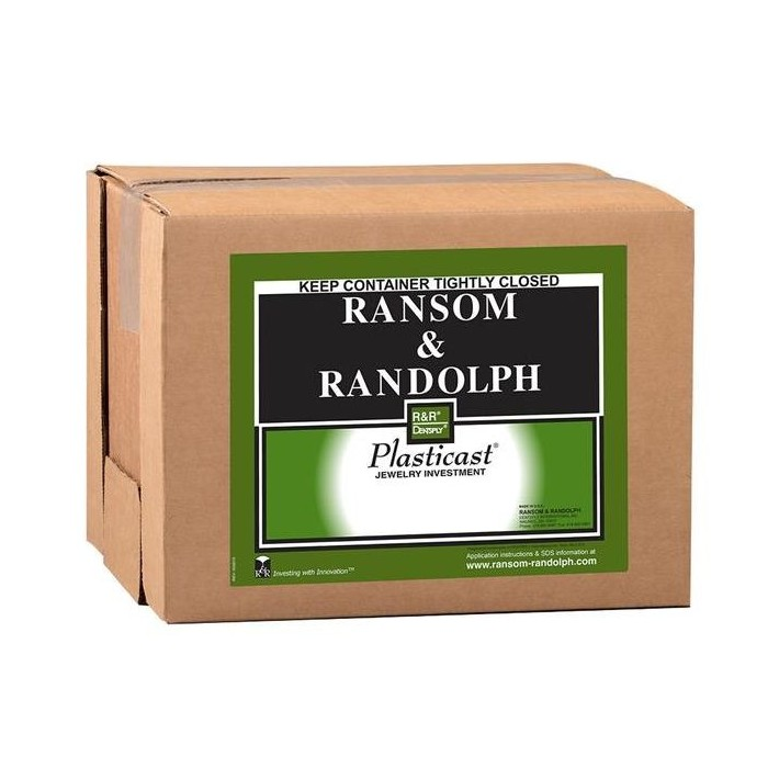 "Revestimiento""PLASTICAST""  Ransom&Randolph 22,6 kg."
